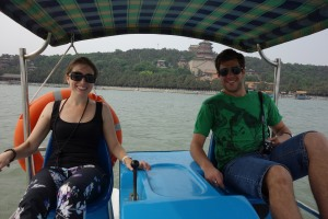 Paddleboating at the Summer Palace