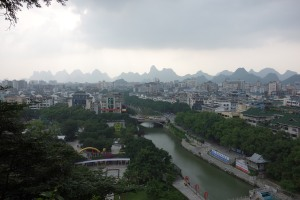 View over Guilin from Elephant Trunk Hill