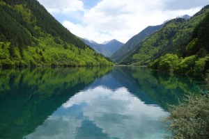 Rhinoceros Lake, Jiuzhaigou