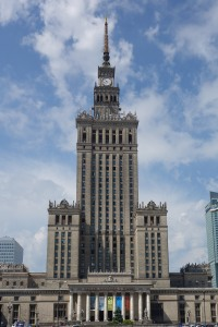 Warsaw's Palace of Science and Culture