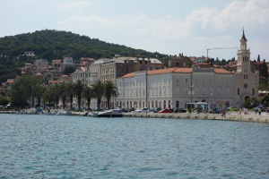 Part of Split harbour.
