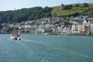 Dartmouth from the ferry.