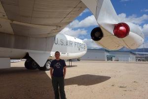 Jez with a B-52.
